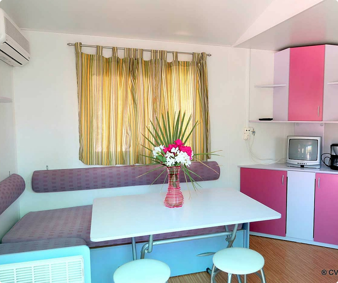 Bungalow mobil home, Mojacar Spain