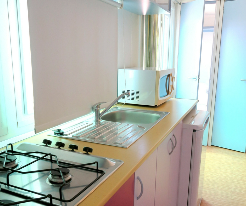 Kitchen Bungalow - Mobilhome 780